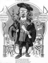 Caricatura del presidente Julio Argentino Roca, febrero 1899 - CAPITULO III