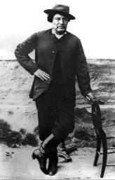 Jefe tehuelche Valent__n Sayhueque. Patagonia 1903.